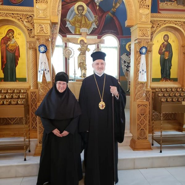Archbishop and nun
