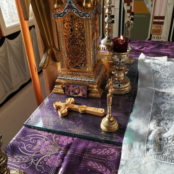 Pascha holy table